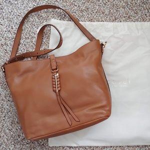 Stella & Dot COVET Sunday Leather Bag